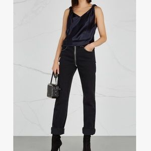 HELMUT LANG SILK TOP